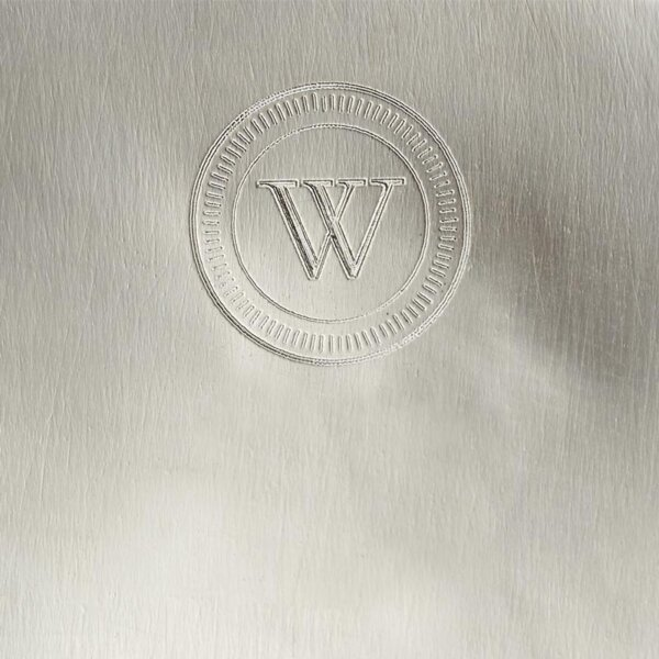 The Wolseley's silver stamp