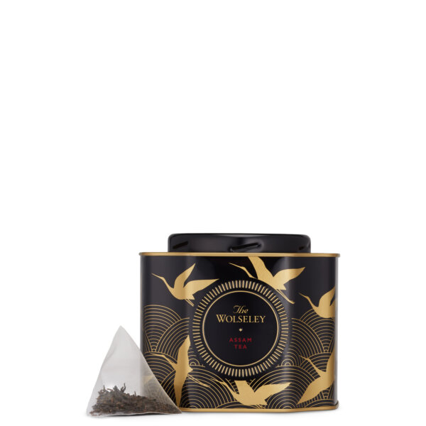 Assam Tea Caddy Tin - Gifts & Hampers - The Wolseley