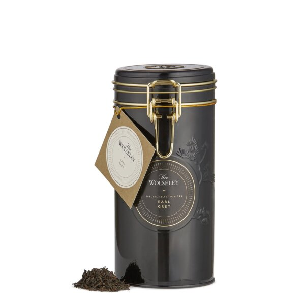 The Wolseley's Earl Grey loose leaf tea tin