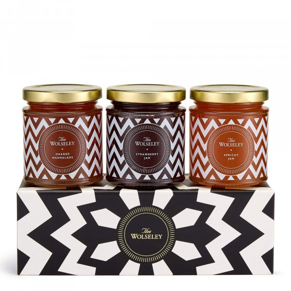 Jam and marmalade gift set