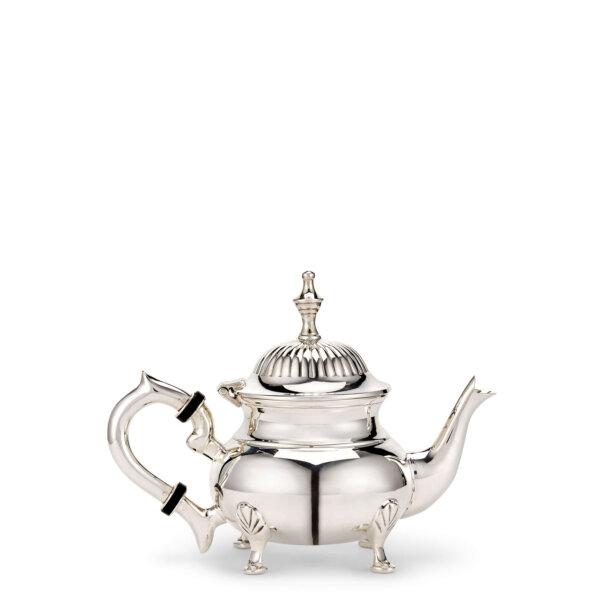 Mini silver plated teapot