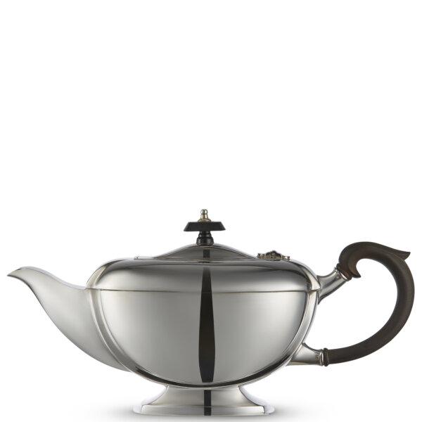 Vintage-Silver Plated Art-Deco Teapot