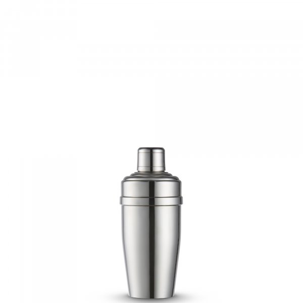 Vintage Silver-Plated Art Deco French Cocktail Shaker
