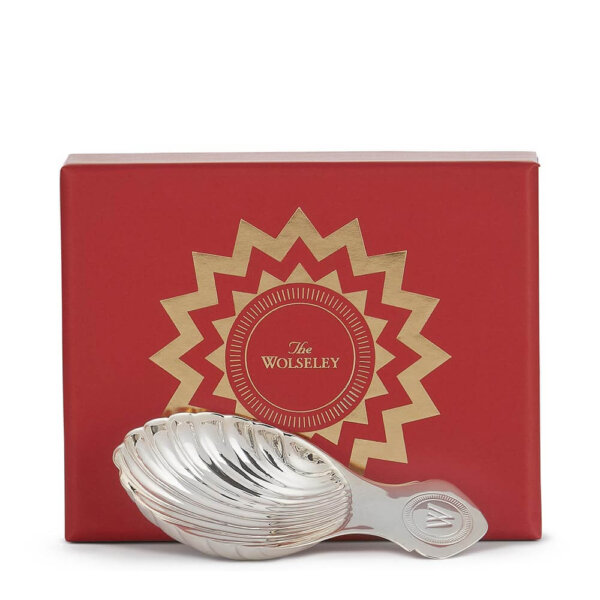 Silver plated caddy spoon