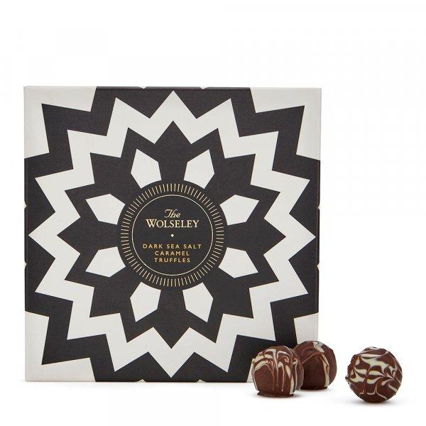 The Wolseley's dark caramel truffles