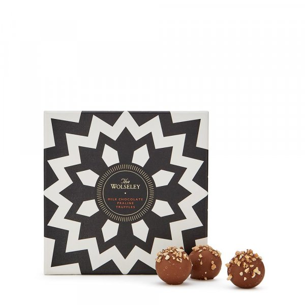 The Wolseley's milk chocolate truffles