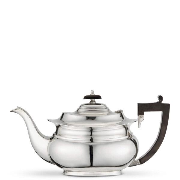 Vintage Silver-Plated Medium Teapot