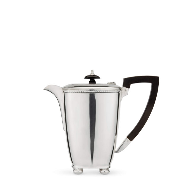 Vintage Silver-Plated Small Coffee Pot