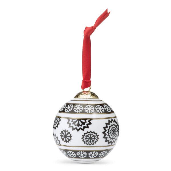 Christmas Fine Bone China Bauble - The Wolseley Gift Shop