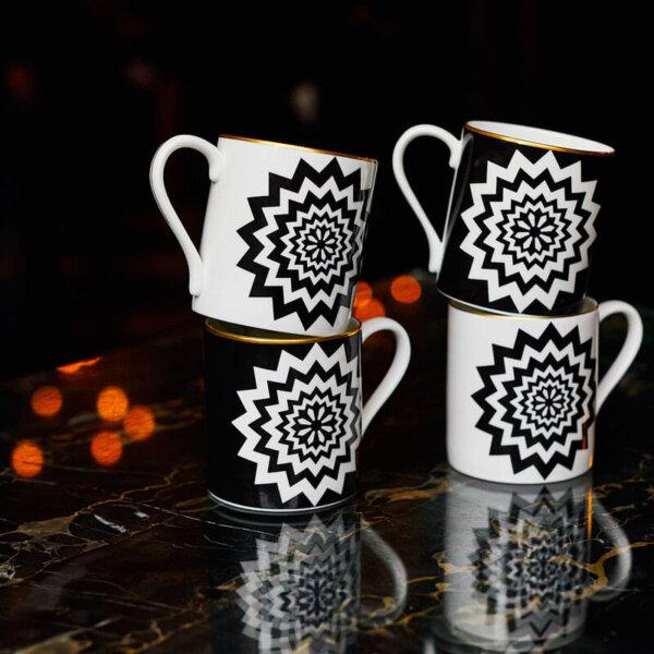 The Wolseley Fine bone China mug set of two