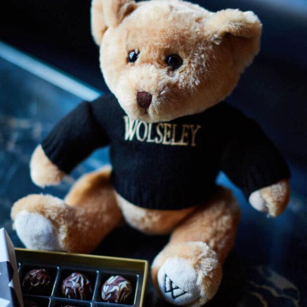 The Wolseley teddy bear