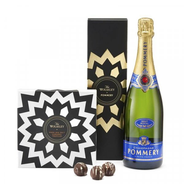 The Wolseley's champagne and truffles