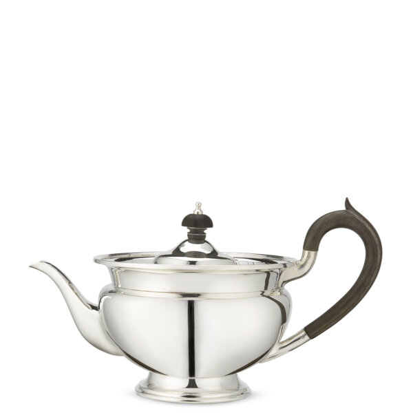 Medium size silver tea pot