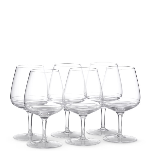Bevelled wine glasses - Glassware - The Wosleley Shop