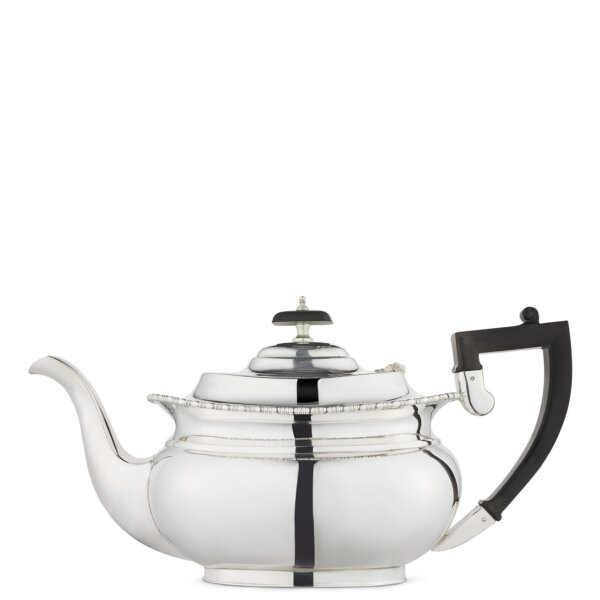 vintage silver plated teapot
