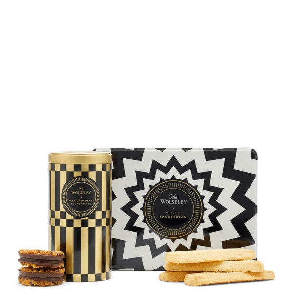 shortbread and dark chocolate florentines - Gift Sets & Hampers - The Wolseley