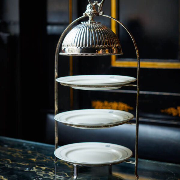 Afternoon Tea stand at The Wolseley