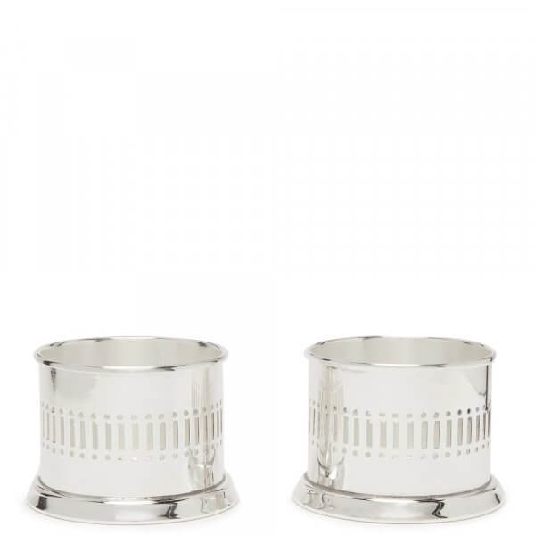 Silver-plated Tea Lights Set - Silverware - The Wolseley Shop