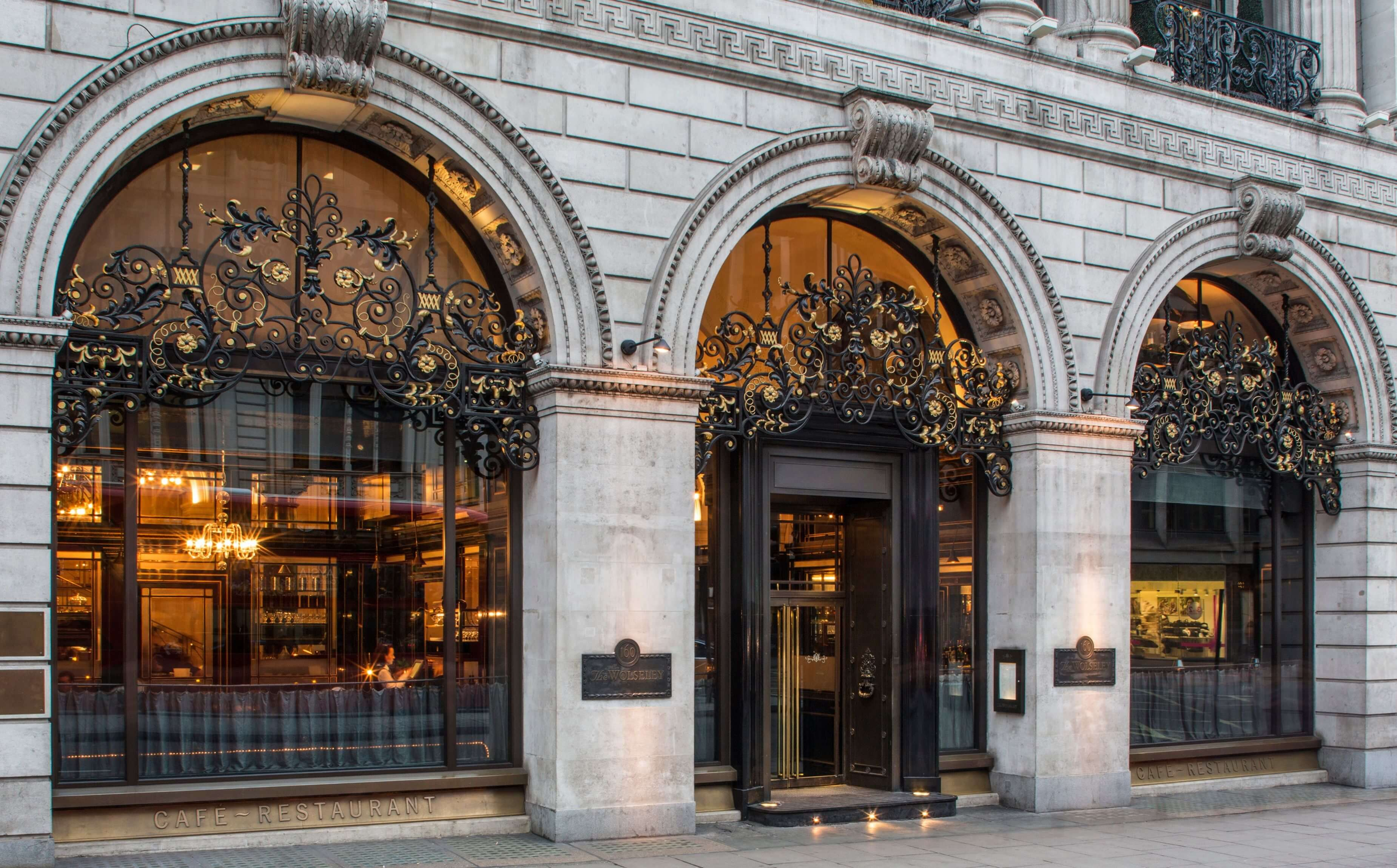 Restaurant In Mayfair London The Wolseley