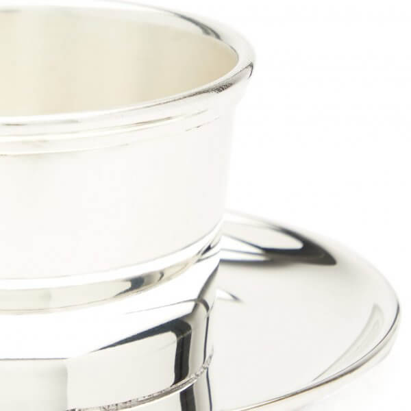 Silver-plated olive pot, The Wolseley