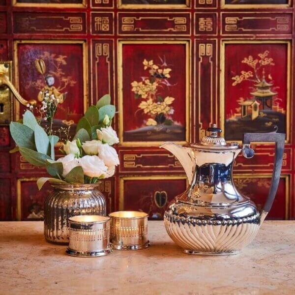 The Wolseley Silver Coffee Pot