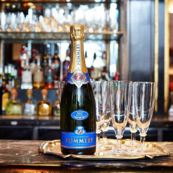 Pommery Champagne available at The Wolseley bar next to The Ritz