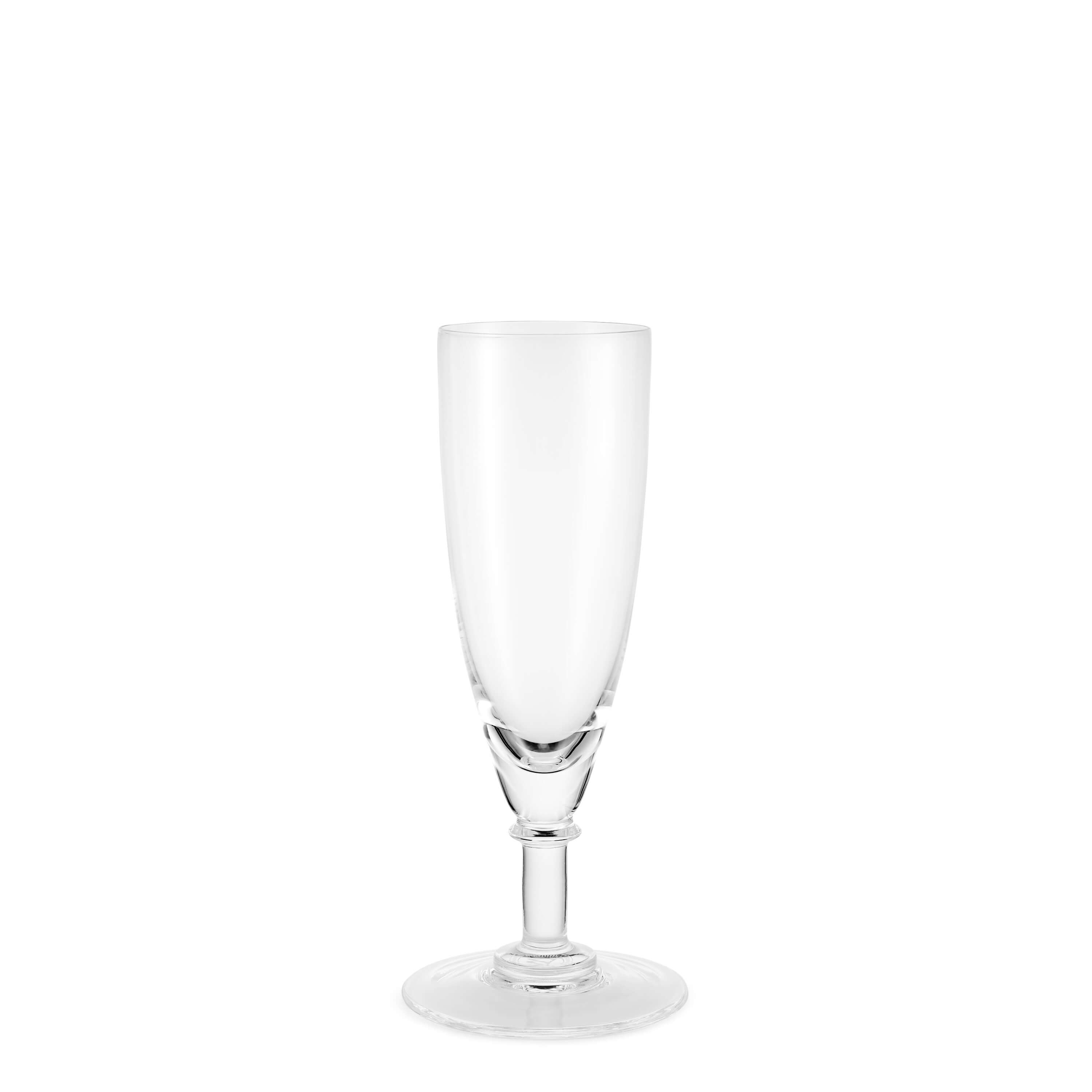 Crystal champagne flute - Glassware - The Wosleley Shop