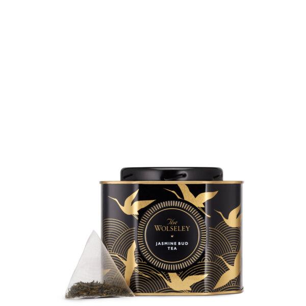 Jasmine Bud Tea Caddy Tin - Confectionery, Teas & Coffees - The Wolseley