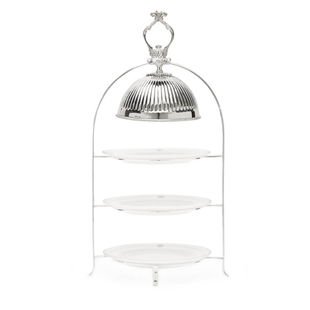 Afternoon Tea Stand - Silverware - The Wolseley Shop