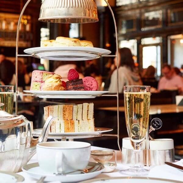 Best of British Afternoon Tea at the Wolseley in Piccadilly, Central London