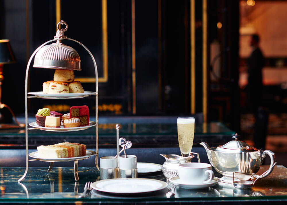 The Wolseley Traditional British Champagne Afternoon Tea in Mayfair, London