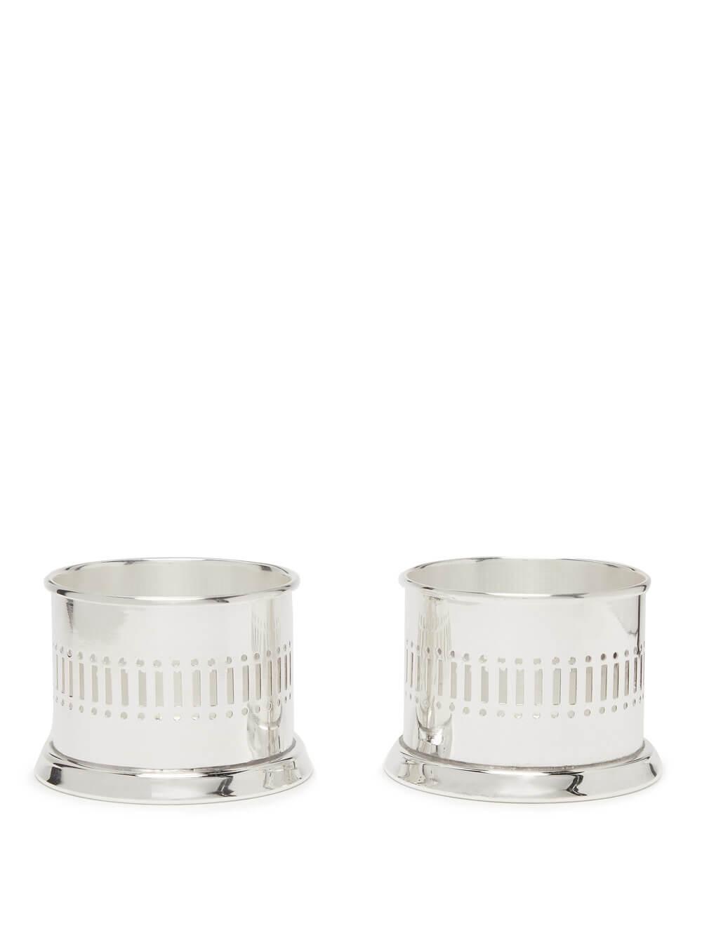 Silver-plated Tea Lights Set - Silverware - The Wolseley Shop