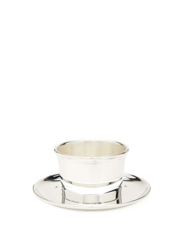 The Wolseley silver-plated oliver pot