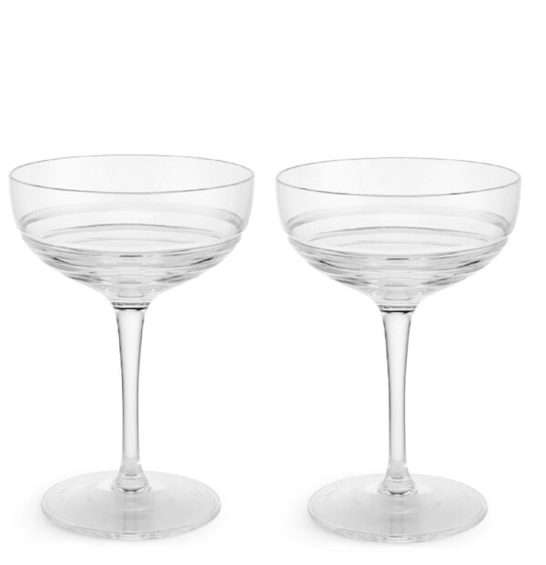 The Wolseley Set of Two Crystal Coupes