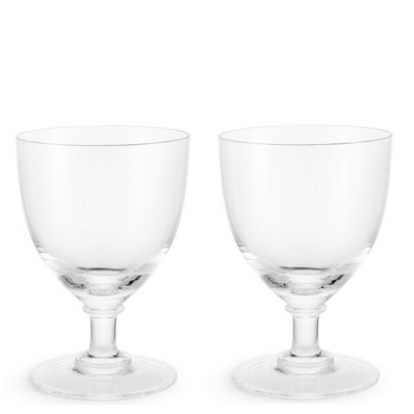 The Wolseley Set of Two Crystal Wine Glass