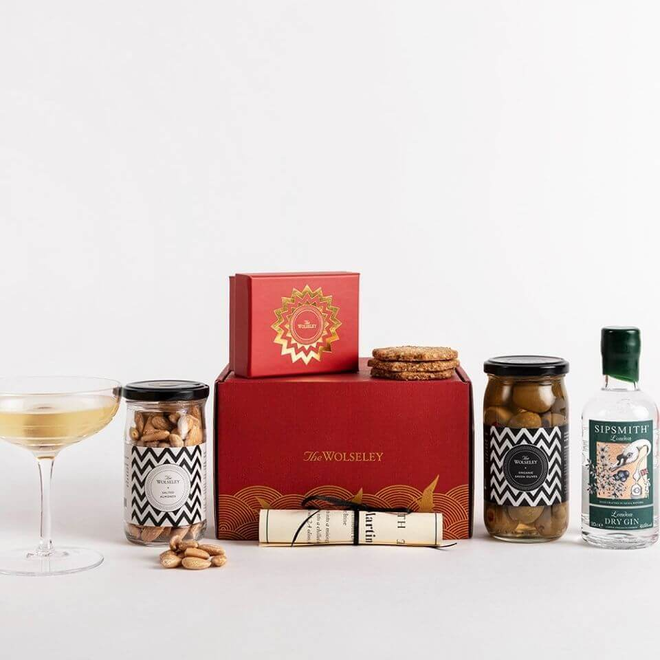 The Wolseley Dirty Martini Gift Box
