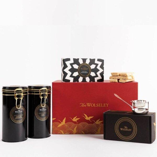 The Wolseley Silver Tea Gift Box