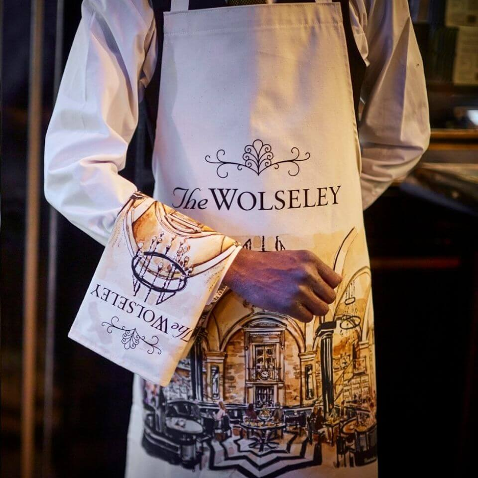 The Wolseley Tea Towel and Apron - Christmas Gifting