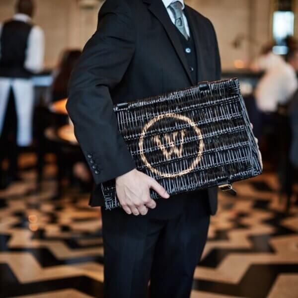 The Wolseley Hamper Basket - Small