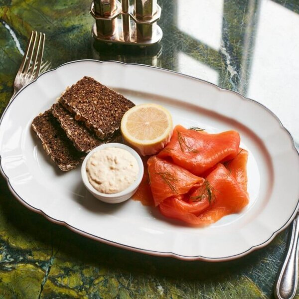 Severn & Wye Smoked Salmon - The Wolseley Home Dining