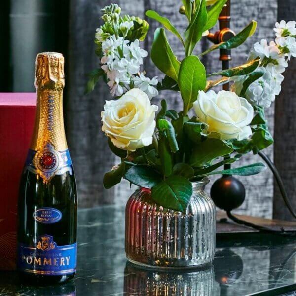 Hhalf bottle Champagne Pommery