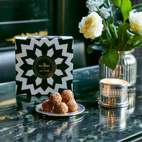 Salted Caramel Chocolate Truffle Box - The Wolseley