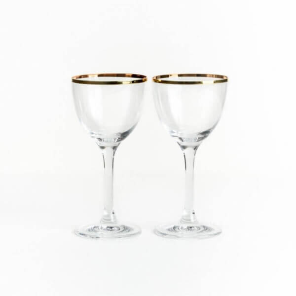 Two Martini Glasses - The Wolseley