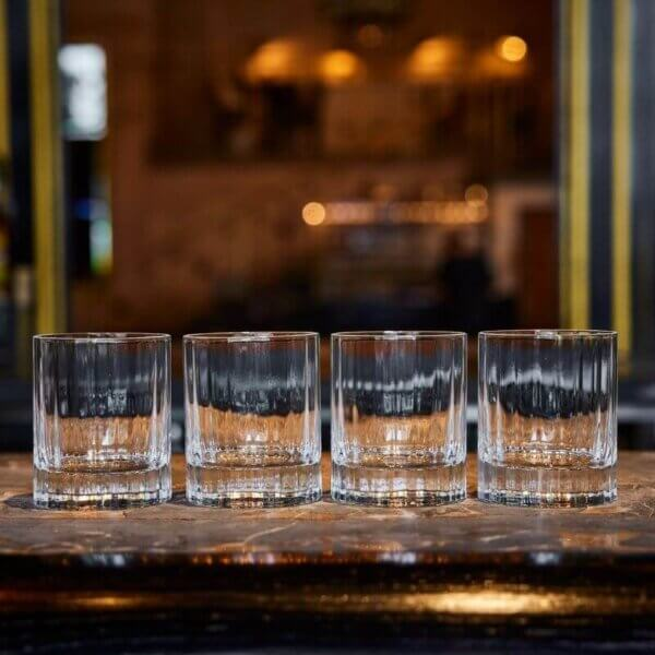 The Wolseley Set of Four Whisky Tumblers